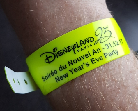 Wristband Disneyland Paris
