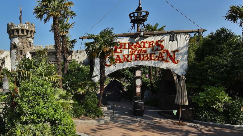 A classic ride but still one of the best and one no to be missed; Pirates of the Caribbean