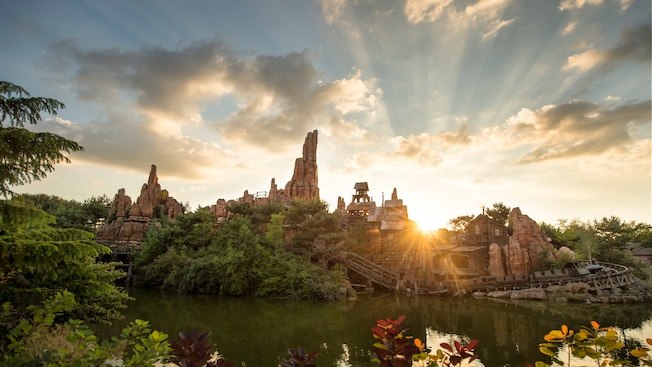 Big Thunder Mountain; still takes top spot as the best attraction. the lengthy queues show its popularity