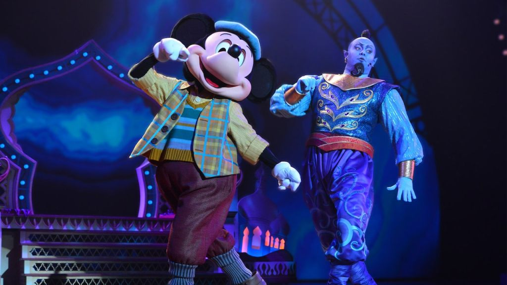 Mickey and the Magician show at Disneyland Paris