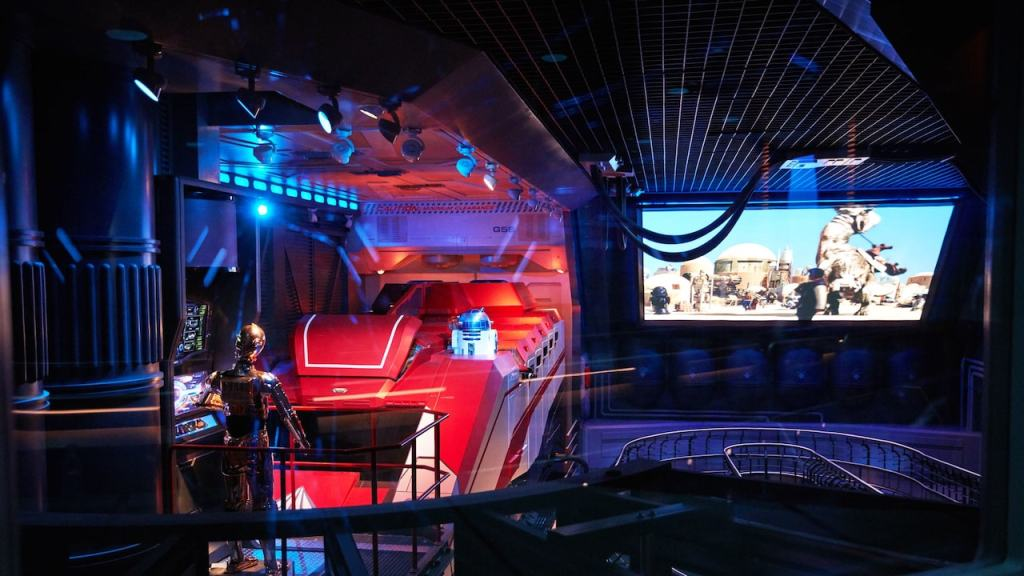 The new version of Star Tours is really exciting and Disneyland Paris have done a brilliant job with reimagining this ride