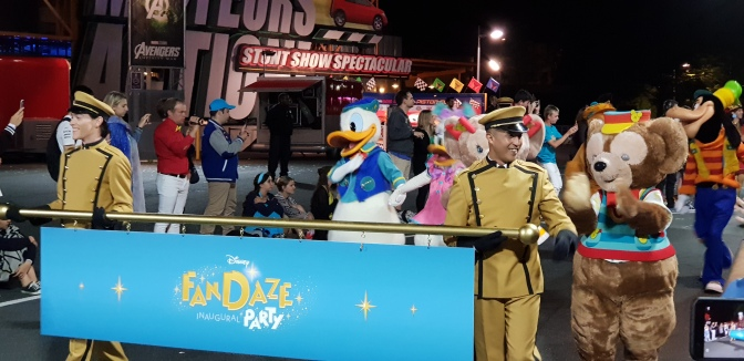 Inaugural Disney Fandaze Party At Disneyland Paris: Review
