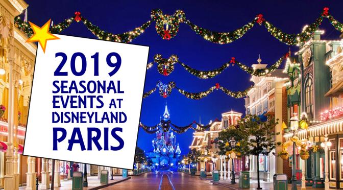 Disneyland Paris At Christmas 2019.Seasons 2019 Dlp Genie